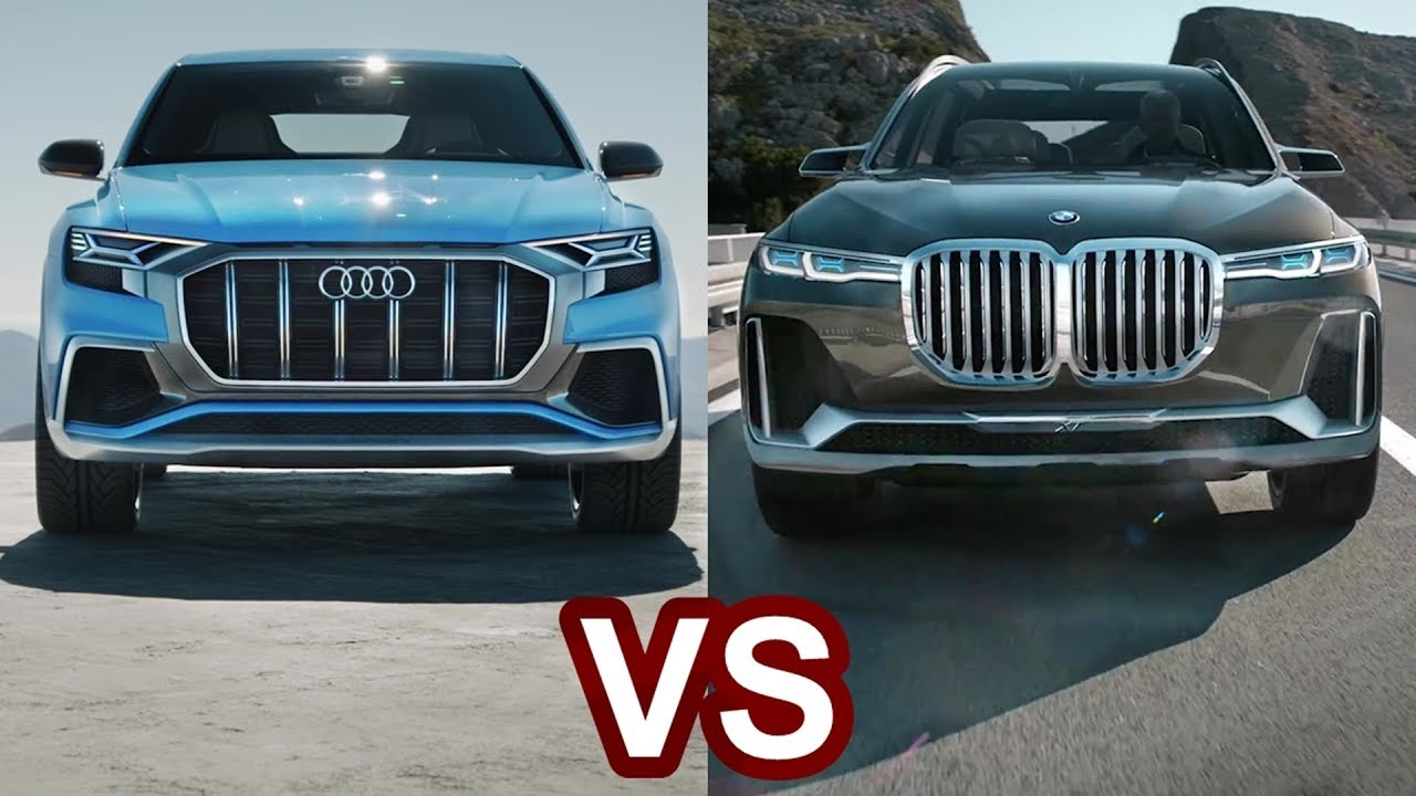 Bmw X7 Vs Audi Q8 Num 235 Rimi Mbrapsht Ka Filluar Video