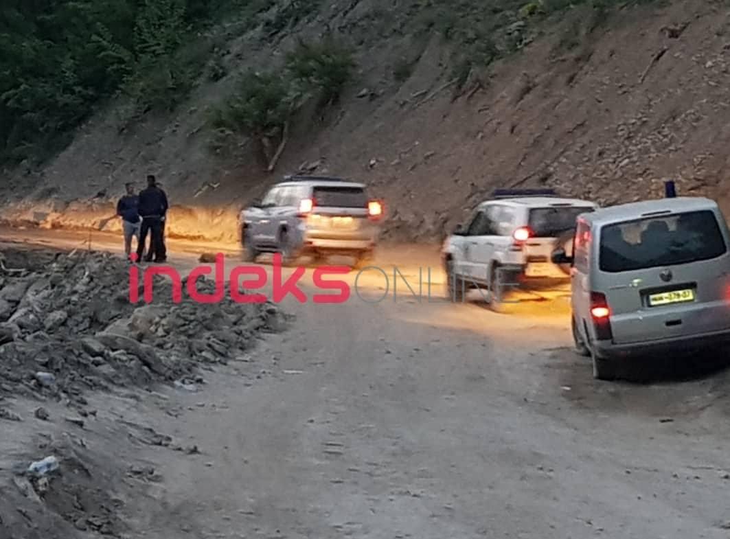 Image result for Aty ku në prill u aksidentuan dy policë të Kaçanikut, sonte bie një tjetër veturë