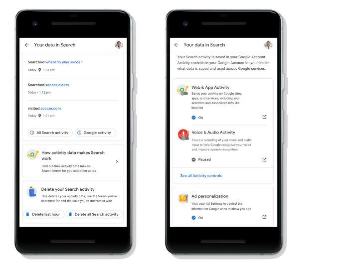 Google tani ju lejon të ndryshoni parametrat e privatësisë së kërkimit