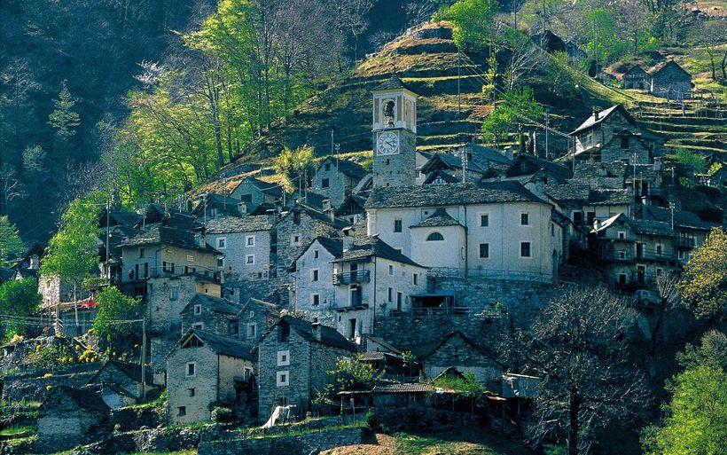 I gjithë fshati në Zvicër transformohet në hotel