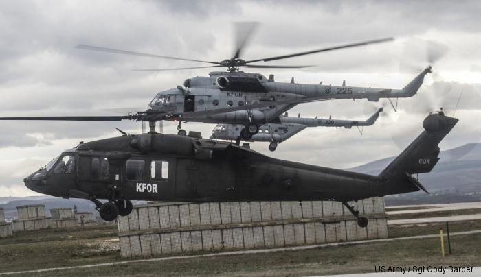 KFOR tregon arsyen pse do të fluturojë me helikopterë në pjesë të ndryshme të Kosovës
