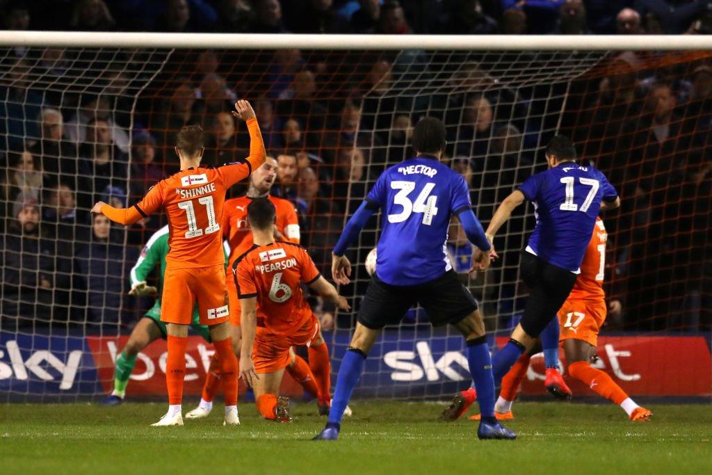 Atdhe Nuhiu e kualifikon Sheffieldin në fazën tjetër të FA Cup