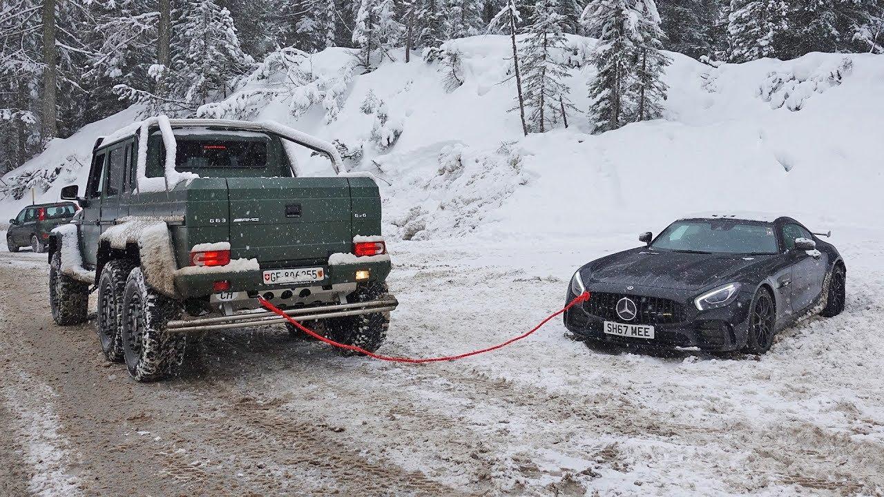 Benzi përkujdeset për Benz-in në borë