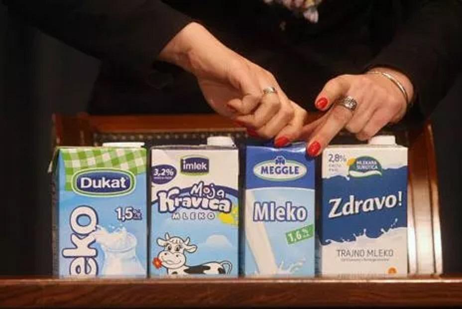 BE nuk lejon importin e qumështit të Serbisë. Ka stubstanca helmuese kancerogjene