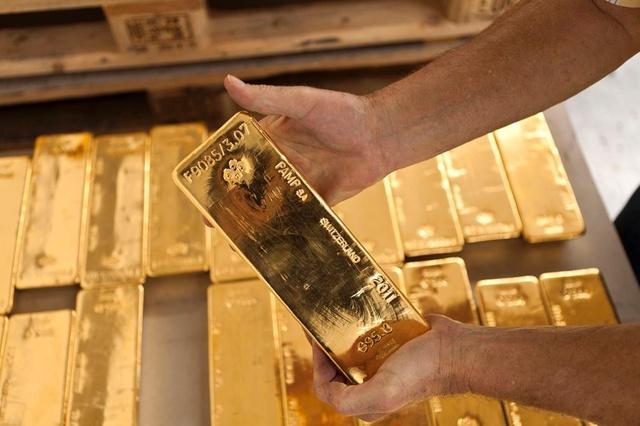 Rezervat më të mëdha të arit dhe valutave janë në Zvicër