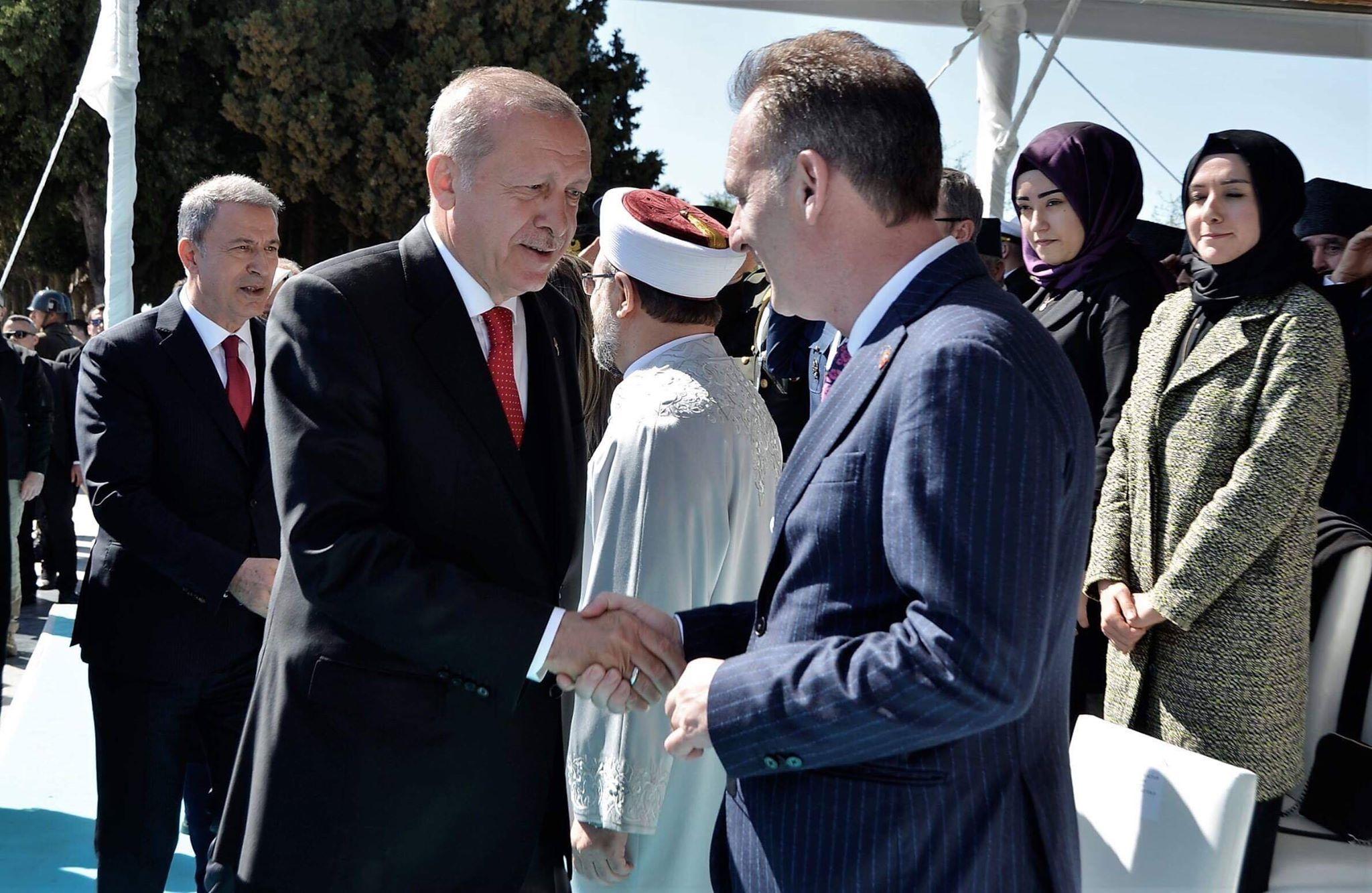 Limaj përkrahë Erdoganit në shënimin e përvjetorit të Çanakkalasë