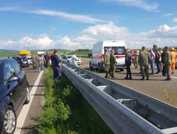 Vdes i aksidentuari në autostradën  Arbën Xhaferi