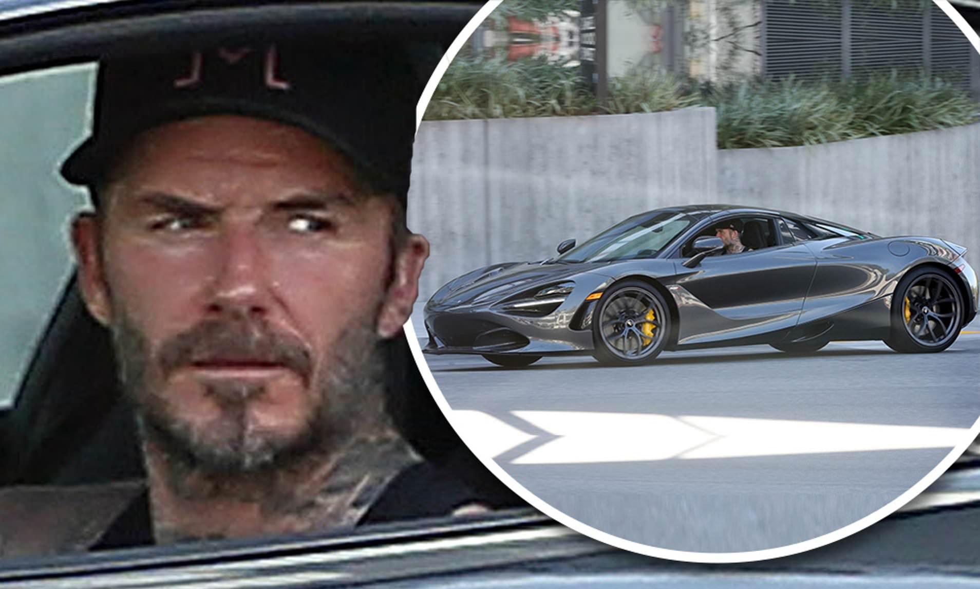 David Beckham një sportist i zoti, por jo dhe një shofer i tillë