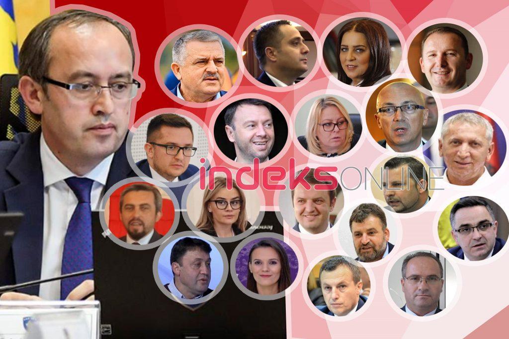Ky është kabineti i plotë i qeverisë së Hotit