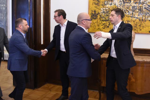Emrat e Listës Srpska në kabinetin e Qeverisë së Hotit