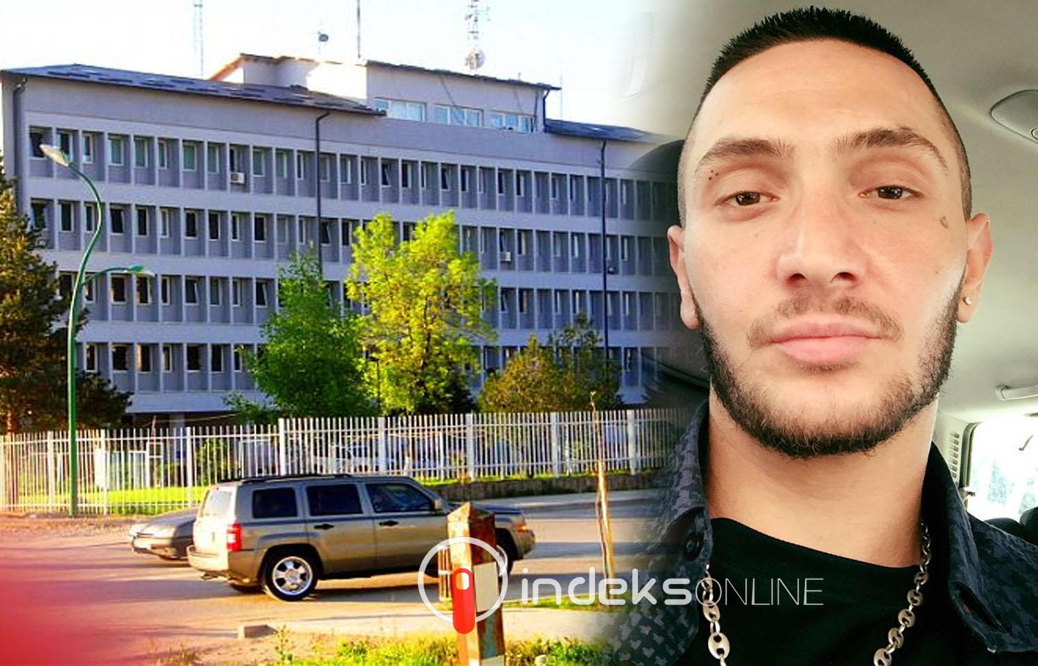 Dardan Krivaqa po dërgohet në stacionin e Policisë në Ferizaj -  Indeksonline.net